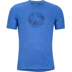 Marmot Transporter Kortærmet T-shirt Herrer blå
